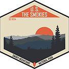 Smoky Mountains Nationalpark von moosewop