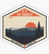 Smoky Mountains Nationalpark Sticker