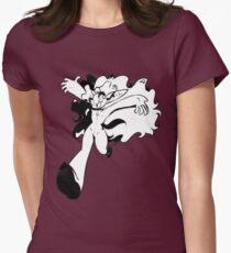 Chibi Jump Min! Women's Fitted T-Shirt