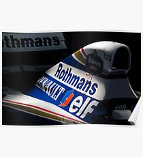 Williams FW16 - Ayrton Senna Poster
