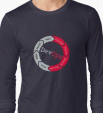 DevOps flow Long Sleeve T-Shirt