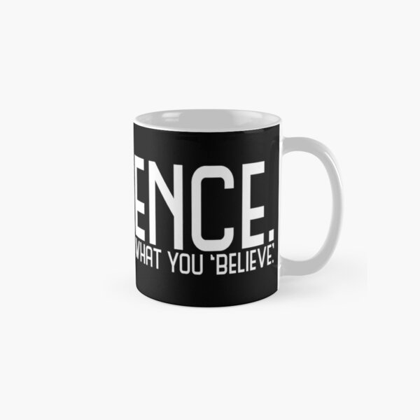 Science Doesn't Give A Fuck  Classic Mug