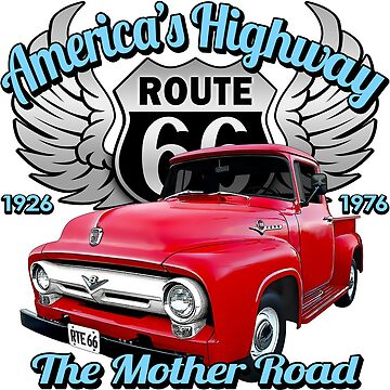 Mother Road - Route 66 by hotrodz