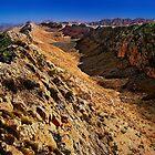 Heavitree Range, Central Australia by Kevin McGennan