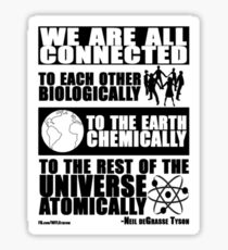 We Are All Connected  Sticker