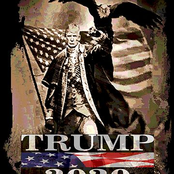 Re-Elect President Donald Trump In 2020 by Obama666