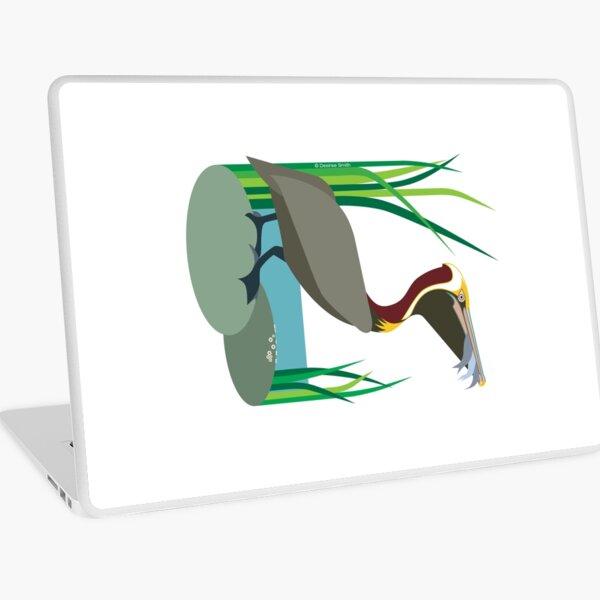 Brown Pelican #4 Laptop Skin