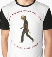 Walking Sad Clown Graphic T-Shirt