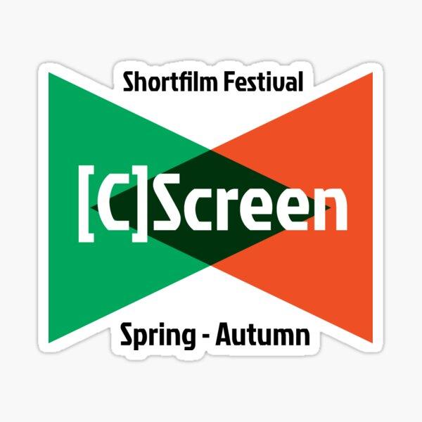 [C]Screen Festival Logo Pegatina