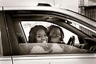 Girls on Springfield Ave II, Newark, NJ by Yuri Lev