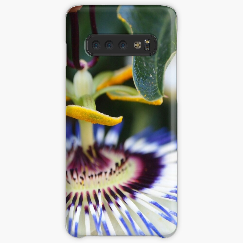 Passionflower (passiflora) from my neighborhood Case & Skin for Samsung Galaxy