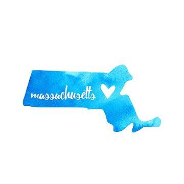 Massachusetts - azul de gracehertlein