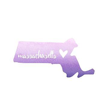 Massachusetts - púrpura de gracehertlein