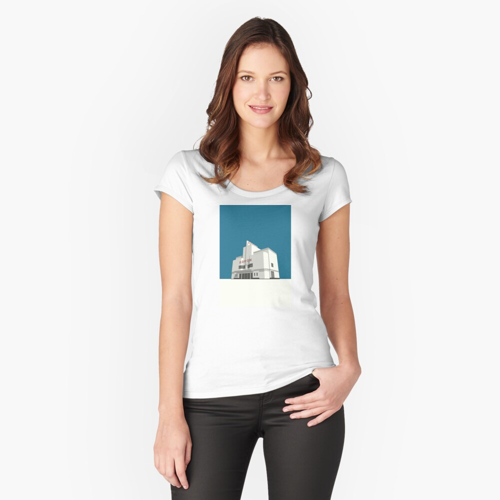 ODEON Balham Women's Fitted Scoop T-Shirt Front