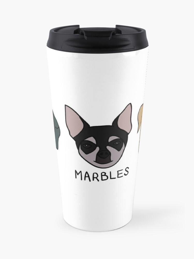 Jenna's Dogs + Names | Travel Mug
