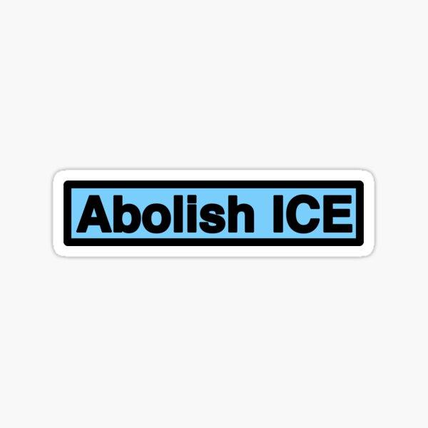 Abolish ICE La Resistencia Sticker Loteria Resistance