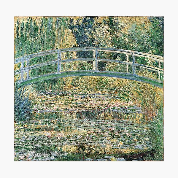 HD. The Water Lily Pond, by Claude Monet. HIGH DEFINITION  Photographic Print