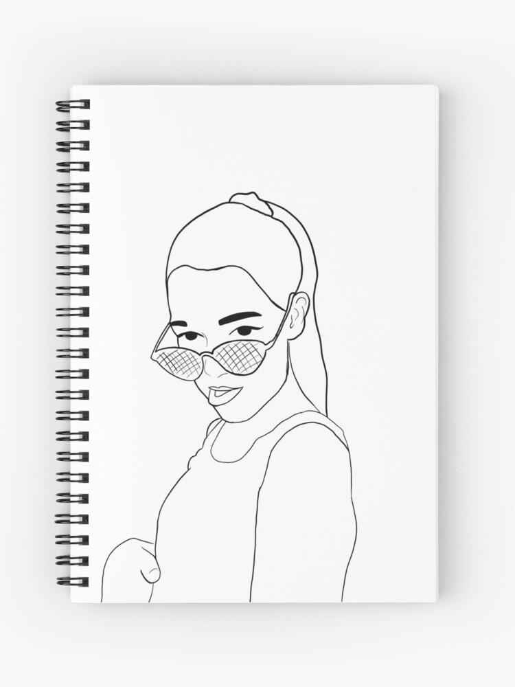 Fille Dessin De Base Tumblr Cahier à Spirale
