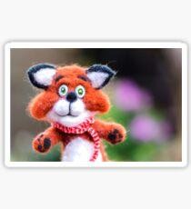 Jim the Fox Sticker