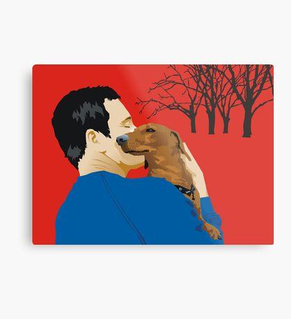the dachshund whisperer Metal Print