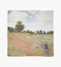 HD. The Poppies (Les Coquelicots) , by Claude Monet. HIGH DEFINITION  Scarf