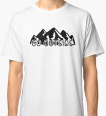 go outside Classic T-Shirt