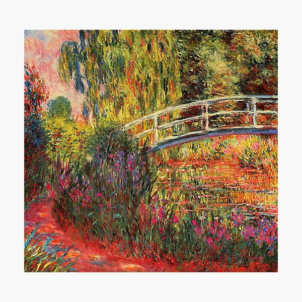 HD. Water Lily Pond, by Claude Monet. HIGH DEFINITION  Photographic Print