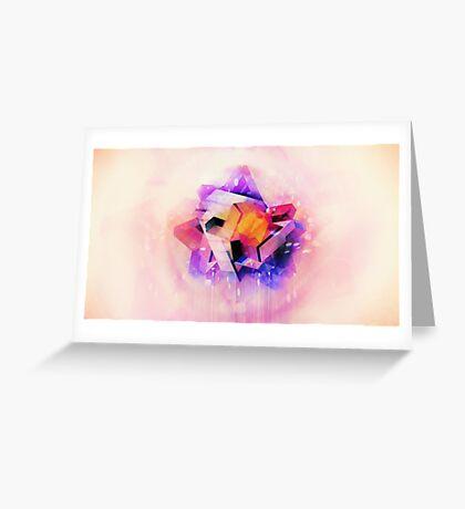 M'Kraan Crystal  Greeting Card