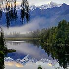 Lake Matheson Morning by Harry Oldmeadow