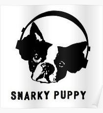 Snarky Puppy Logo Poster