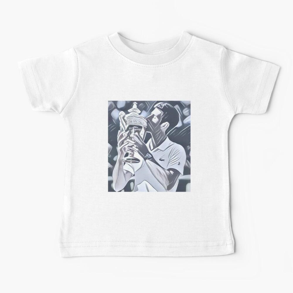 Novak Djokovic Nole Baby T Shirt By Maladesigning Redbubble