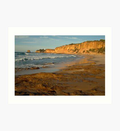 Morning, Split Point,Great Ocean Rd Art Print