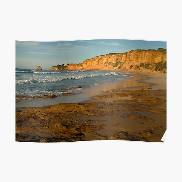 Morning, Split Point,Great Ocean Rd Poster