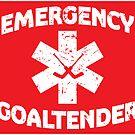 Emergency Goaltender by russianmachine