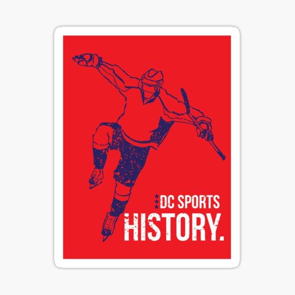 DC Sports History Sticker