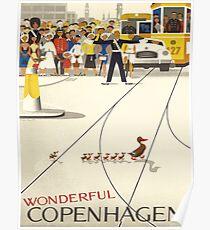 Vintage poster - Copenhagen Poster