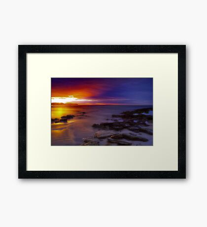 """Dawn Advance"" Framed Print"