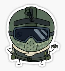 Pegatina Smol Spetsnaz Attacker