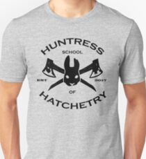 Huntress School of Hatchetry v. 1 Unisex T-Shirt