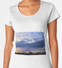 Beautiful Morning Clouds  Women's Premium T-Shirt