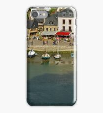Port de St Goustan,  Auray, Brittany, France iPhone Case/Skin