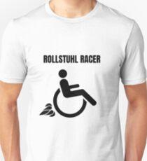 WHEELCHAIR RACER Unisex T-Shirt