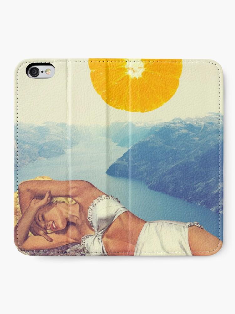 Alternative Ansicht von Vitamin iPhone Flip-Case