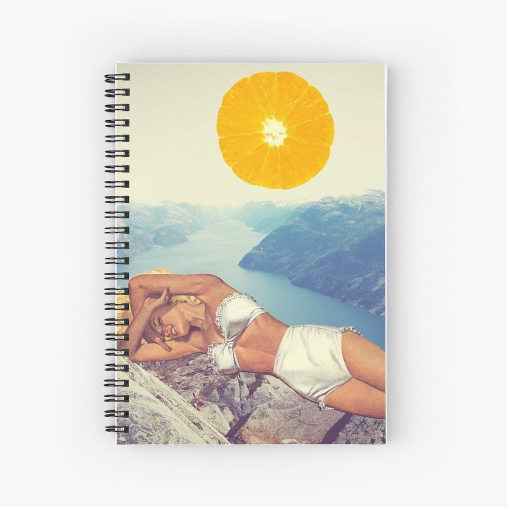 Vitamin Spiral Notebook