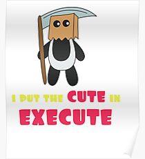 Dream Plan Execute T-shirt Design Cute execute Poster