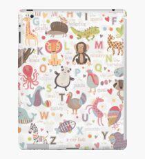 Animal Alphabet iPad Case/Skin