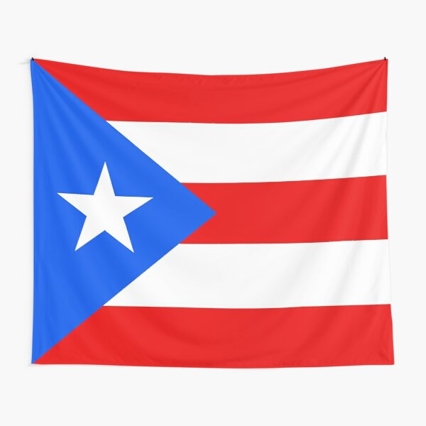 Flag of Puerto Rico Tapestry