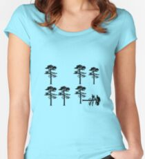 Longleaf Pine Loss Fitted Scoop T-Shirt