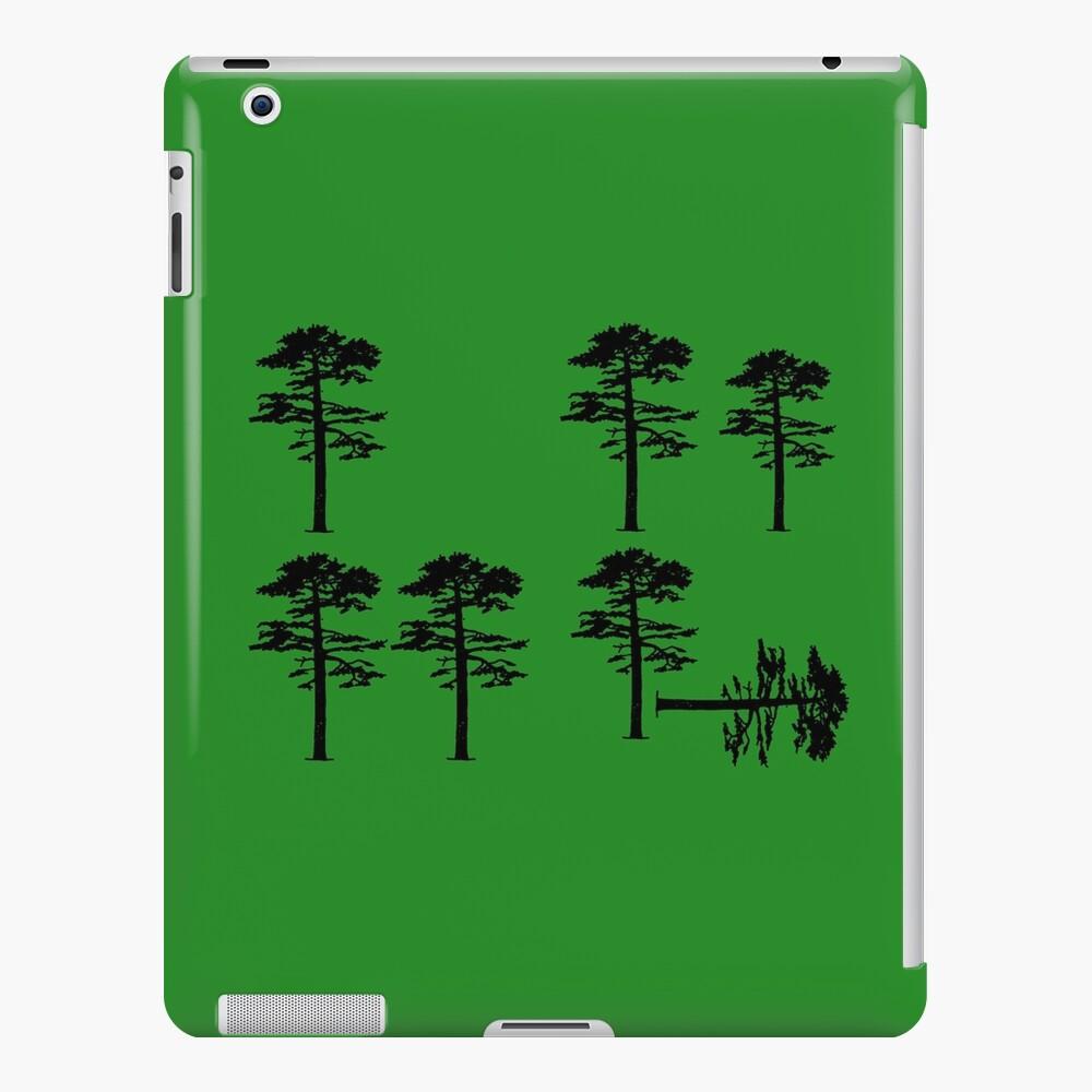 Longleaf Pine Loss iPad Snap Case