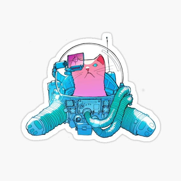 Spacecat - the T-Shirt Sticker